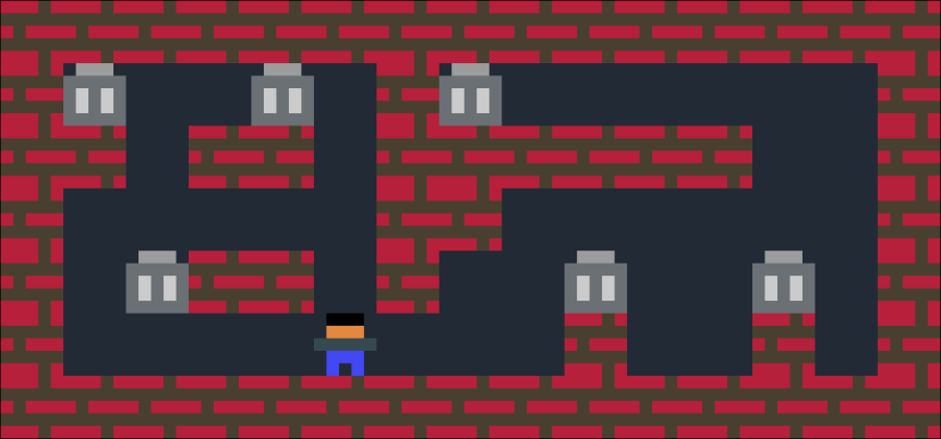 Trash Removal –PuzzleScript
