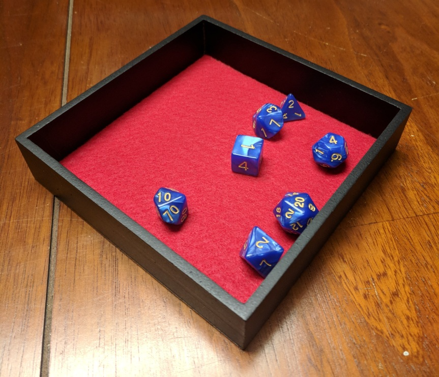 DIY Dice Rolling Tray – Less Than$2