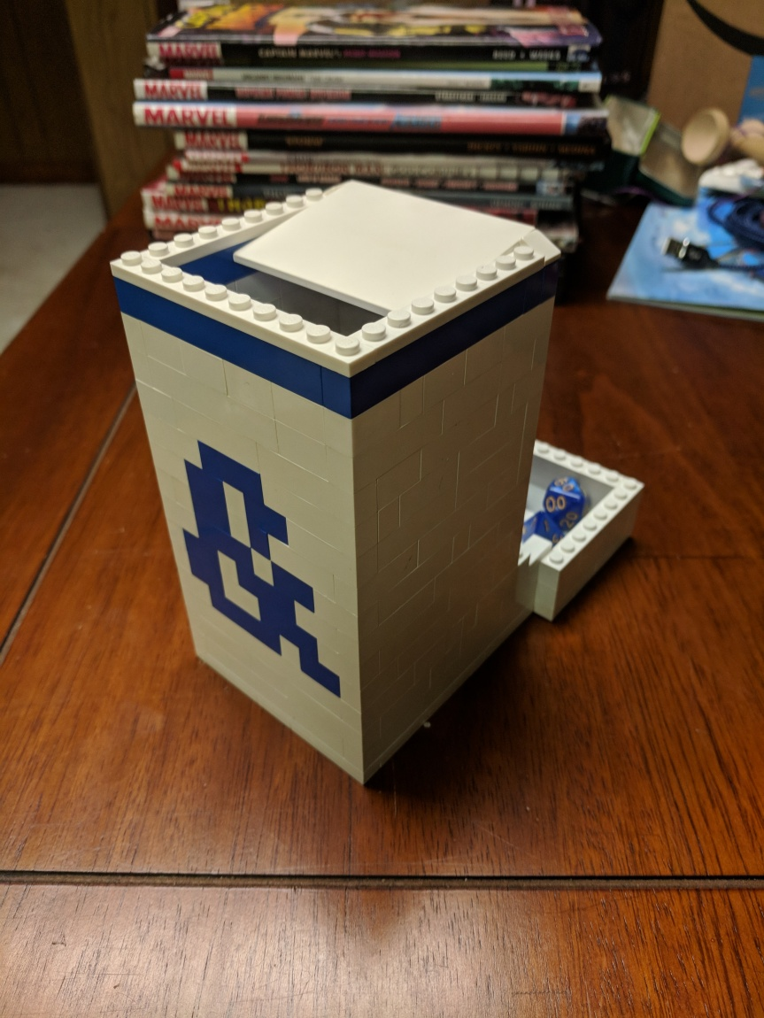 Lego Dice Tower