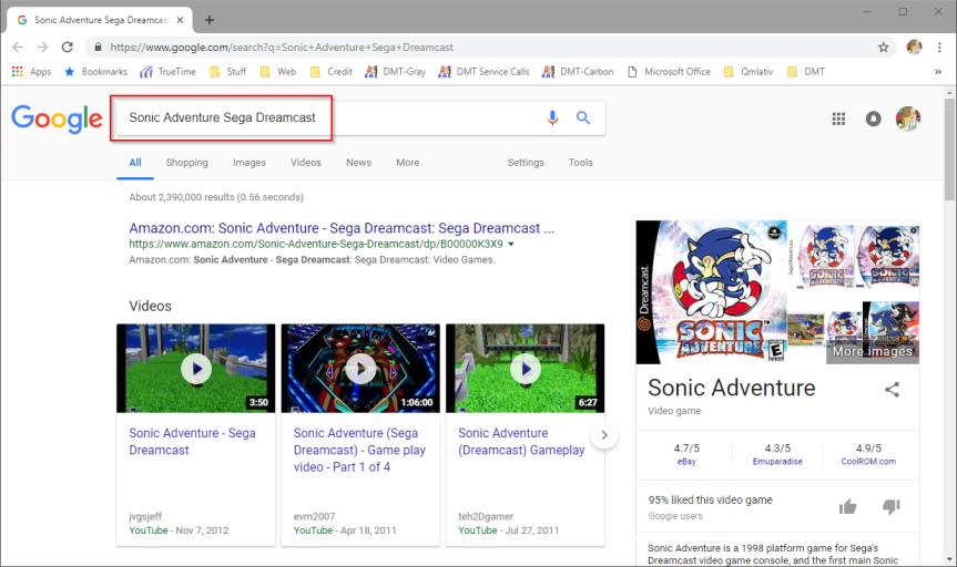 2018-10-01 08_48_54-Sonic Adventure Sega Dreamcast - Google Search
