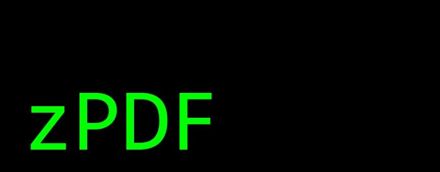 zPDF – Update#0